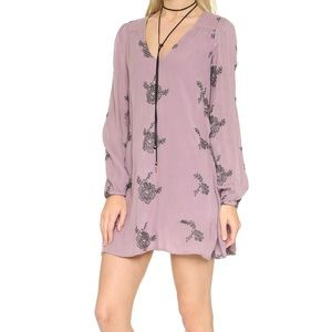 Free People Emma Embroidered Dress